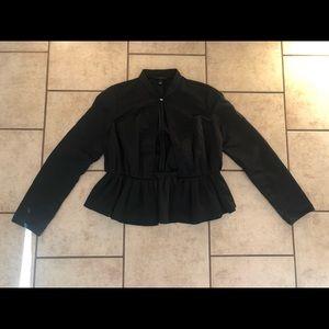 Victoria Beckham for Target Cropped Black Jacket